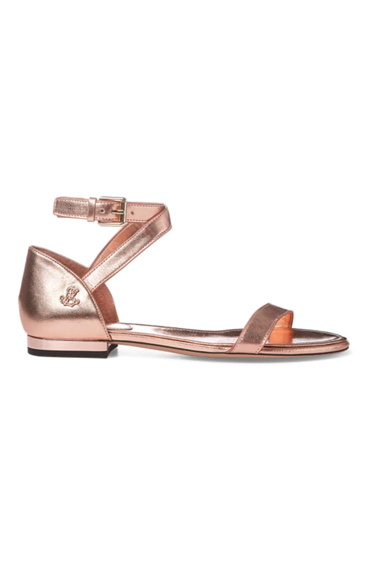 Leather sandals by Lauren Ralph Lauren