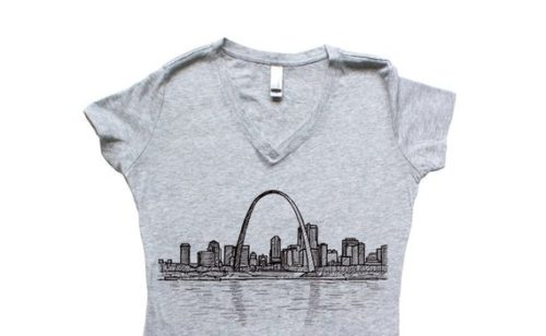Grey St Louis t-shirt
