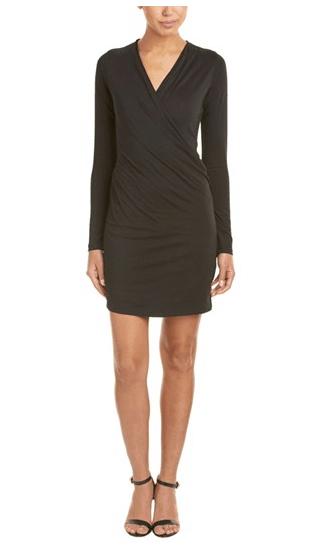 Long sleeved black dress from Bluefly