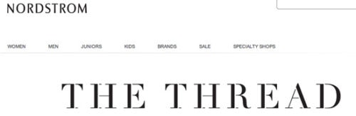 Nordstrom blog: The Thread