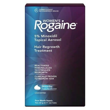 hair loss in women - over the counter products - rogaine for women