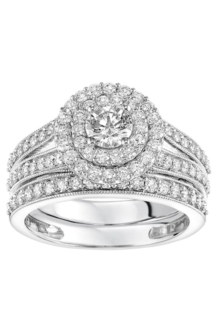 Simply Vera Vera Wang Engagement Ring Set