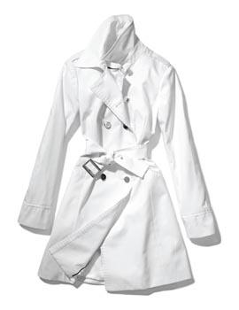 White belted jacket