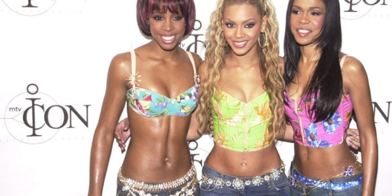 Three members of Destiny's Child