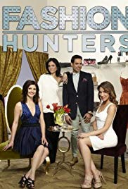 Fashion hunters tv show poster