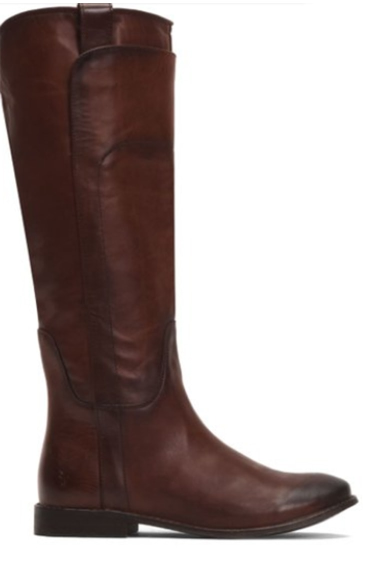 Brown Frye riding boots