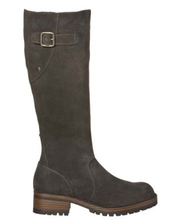 grey lug boots