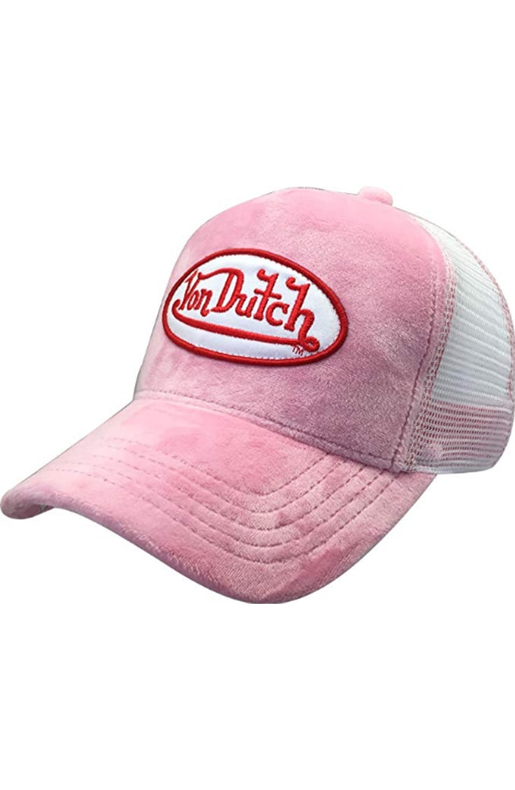 Pink Von Dutch hat