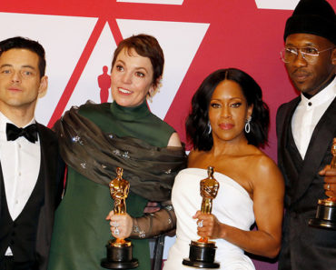 Rami Malek, Olivia Colman, Regina King, Mahershala Ali at the 2019 Oscars