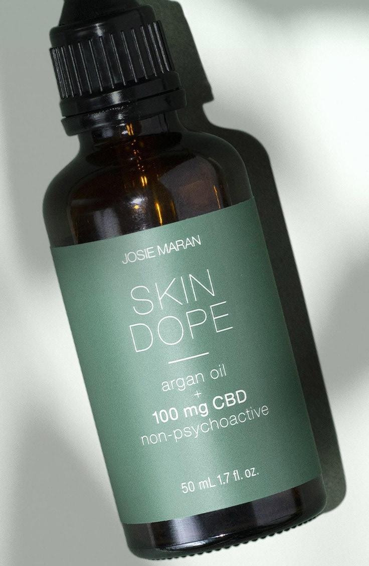 Josie Maran skin dope CBD skin care