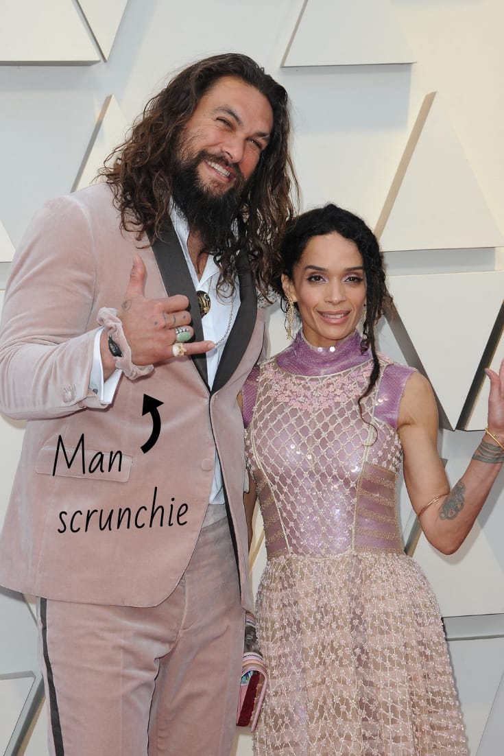 Jason Momoa and Lisa Bonet at 2019 Oscars