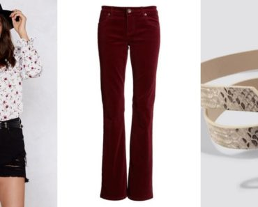 Oufit collage for pear-shaped body