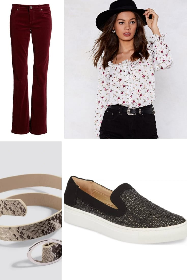 Casual outfit for pear shape