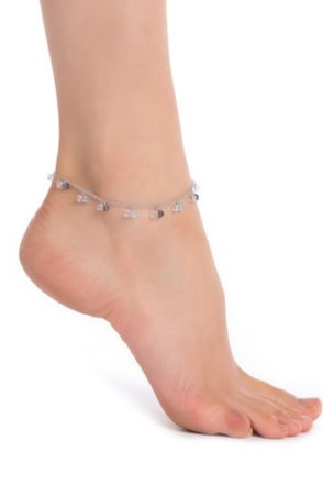 Spring jewelry trends - beaded anklet