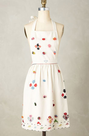 Textured apron from Anthropologie -- mothers day gift idea under $40