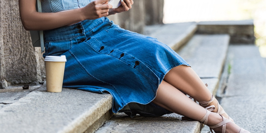 How to Style a Denim Skirt (When You're a Grown-Up)