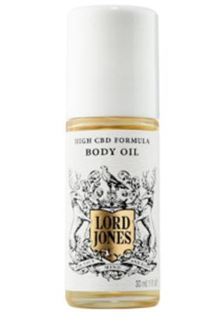 Lord Jones CBD body oil skin care