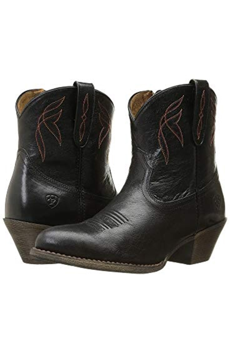 Low profile Ariat cowboy boots