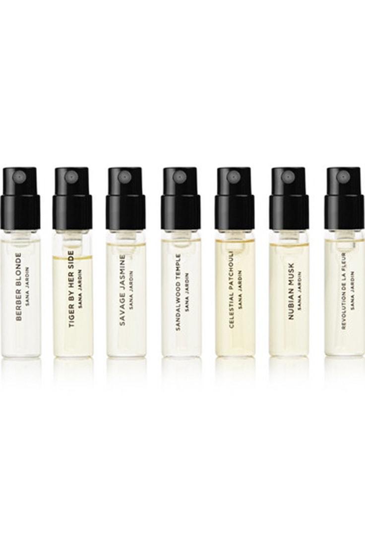 Perfume set: 7 perfume samplers