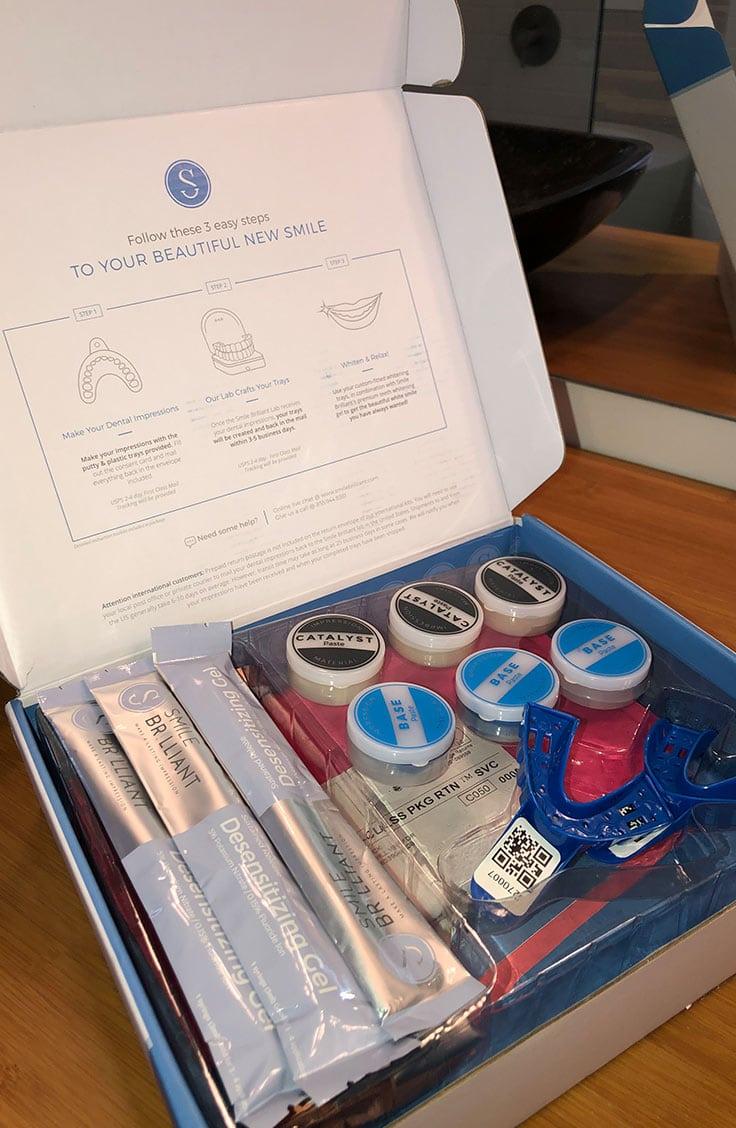 Smile Brilliant whitening kit
