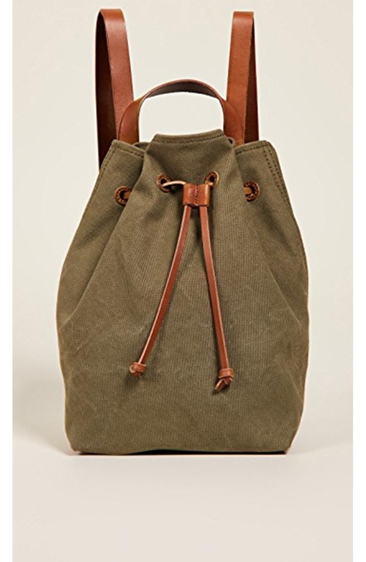 Canvas fashion backpack