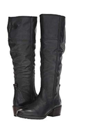 Tall riding style boots