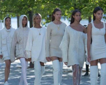 Yeezy Season 4 fashion show