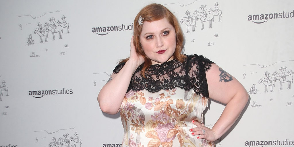 Beth Ditto at Amazon Studios event
