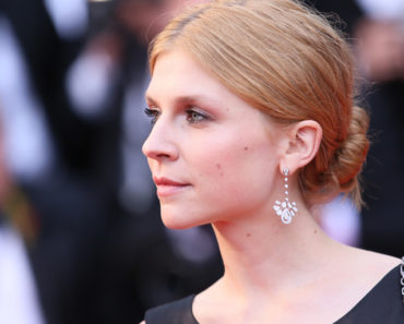 Close up of clemence poesy style