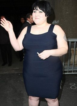 Beth Ditto wearing Lycra