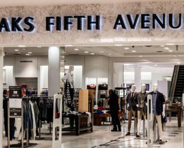 saks fifth avenue storefront