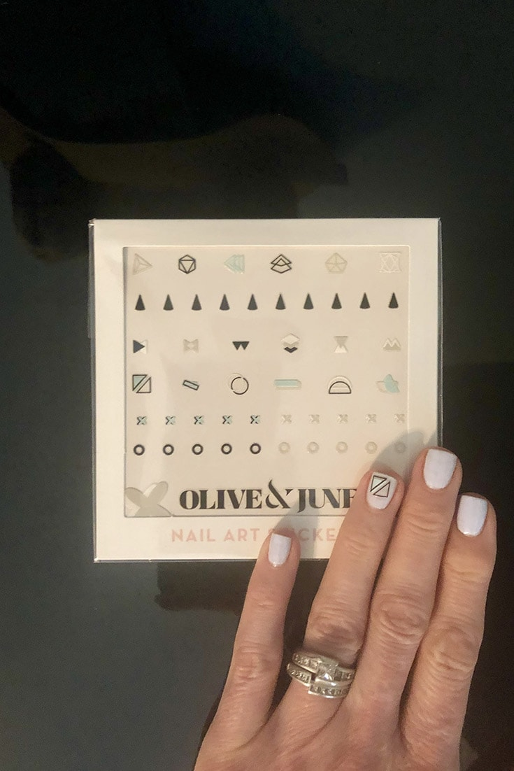 Nail art stickers by Olive & June