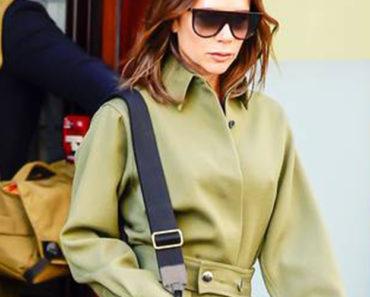 Victoria Beckham wearing a boilersuit