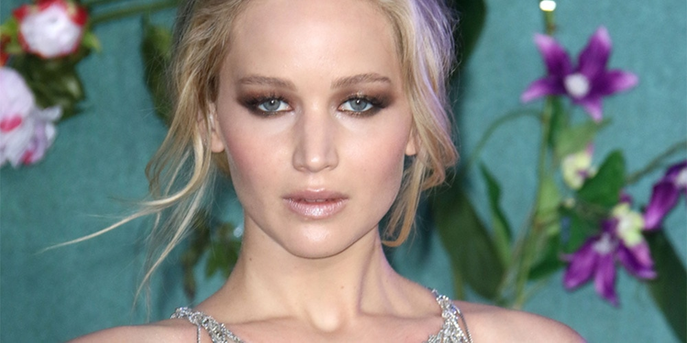 Close up of Jennifer Lawrence