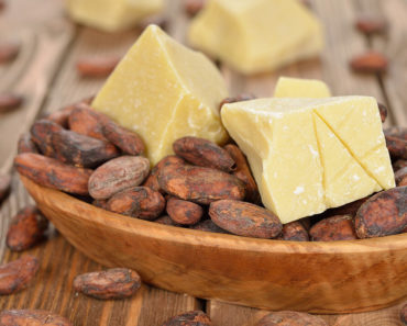 Natural cocoa butter for diy moisturizer