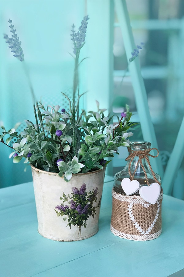 Table arrangement in French countryside style