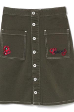 Bape streetwear skirt
