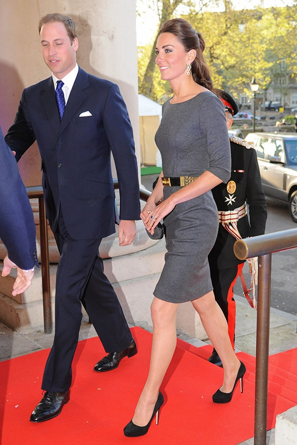 The Duke and Duchess of Cambridge Arrive at The Imperial War Museum in Southwark on April 26, 2012