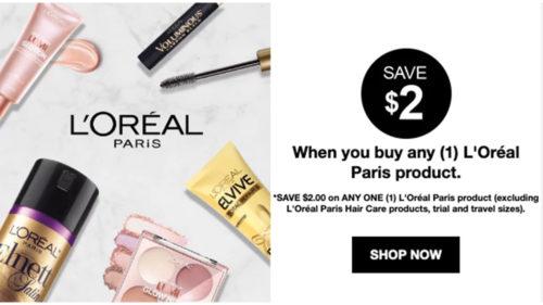 L'Oreal Makeup Coupon