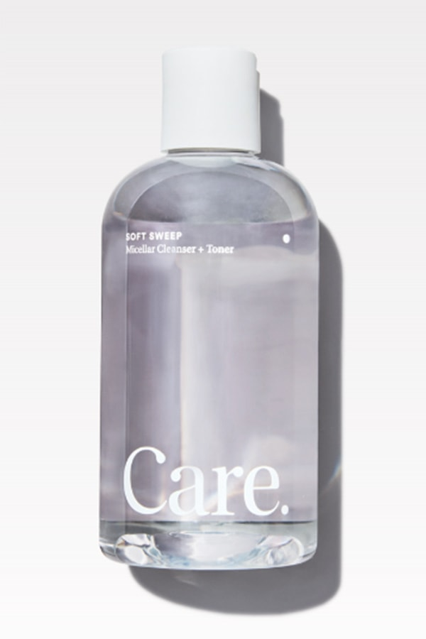 Soft Sweep cleanser and toner
