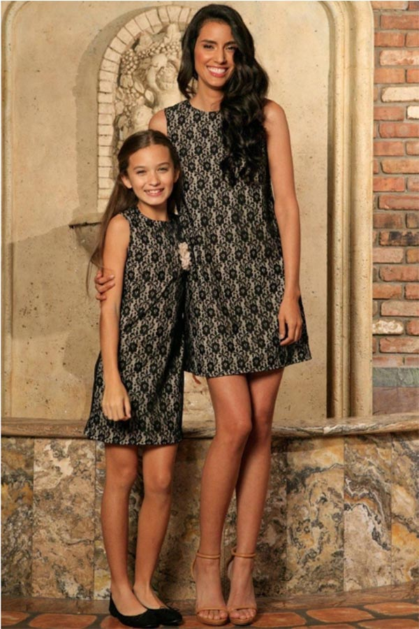 Mommy and me shift dress