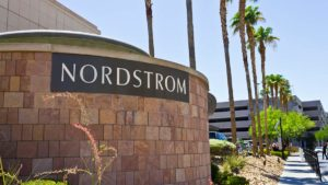 Exterior of Nordstrom store