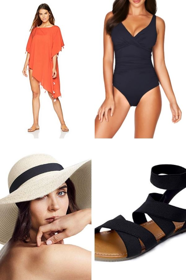 Outfit collage for women over 50