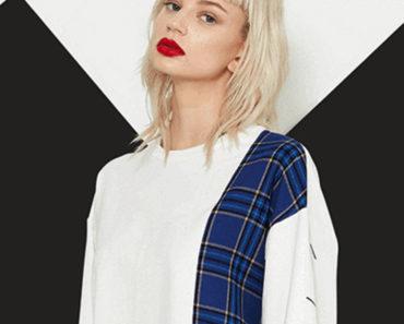 Model wearing streetwear brand Le Fruit Defendu