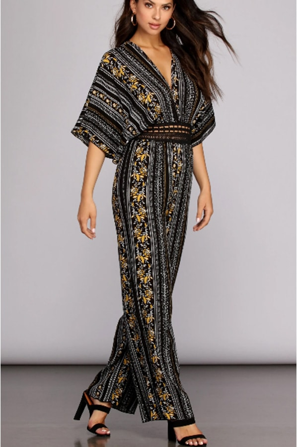 Tribal print jumpsuit from Windsor