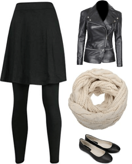 Outfit collage of what to wear in Europe