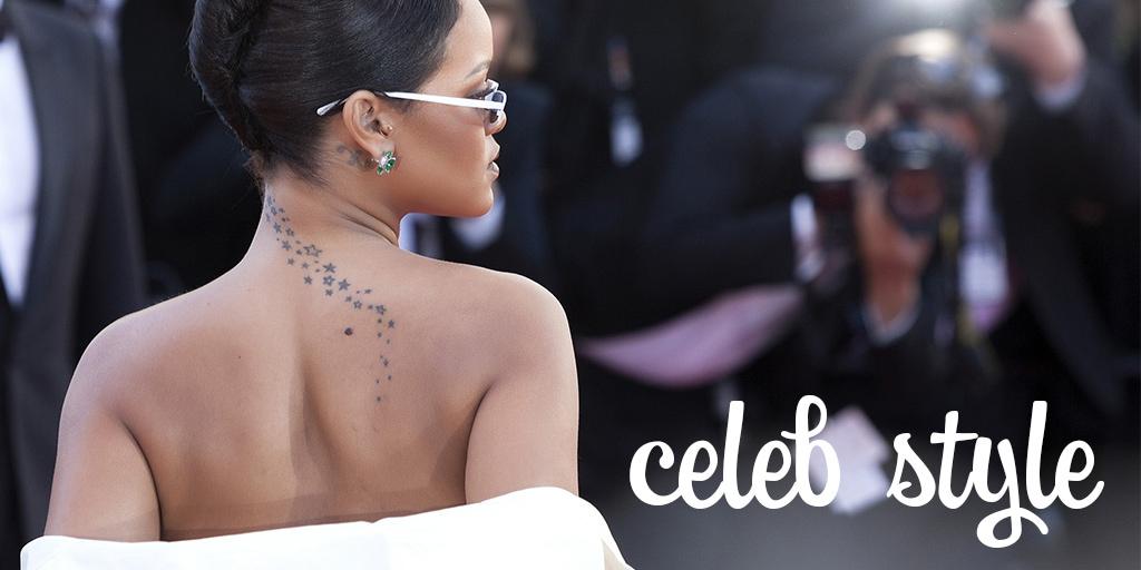Celebrity style with Rihanna