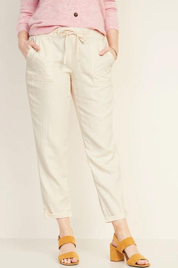 Cotton utility pants