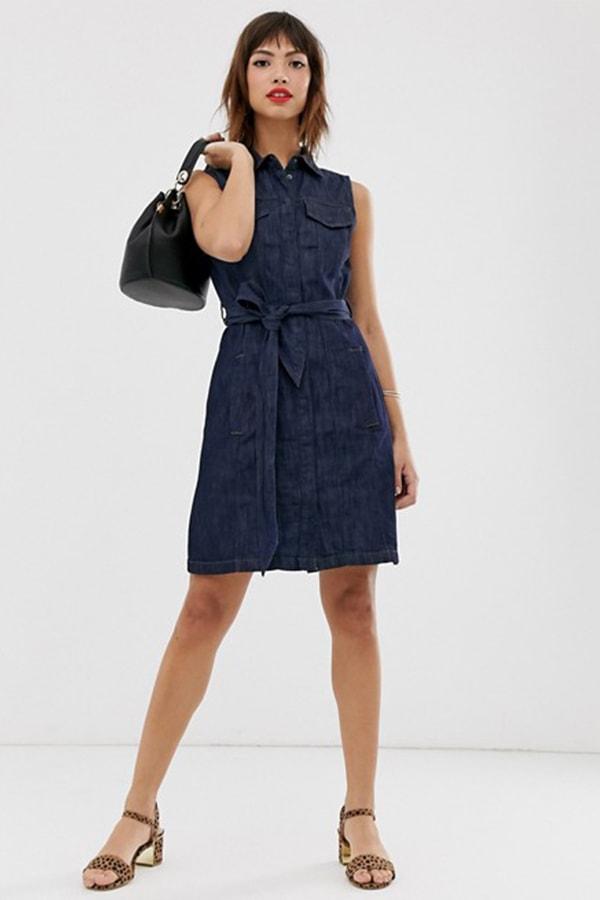 Denim dress from ASOS