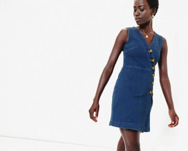 Denim dress from Oasis